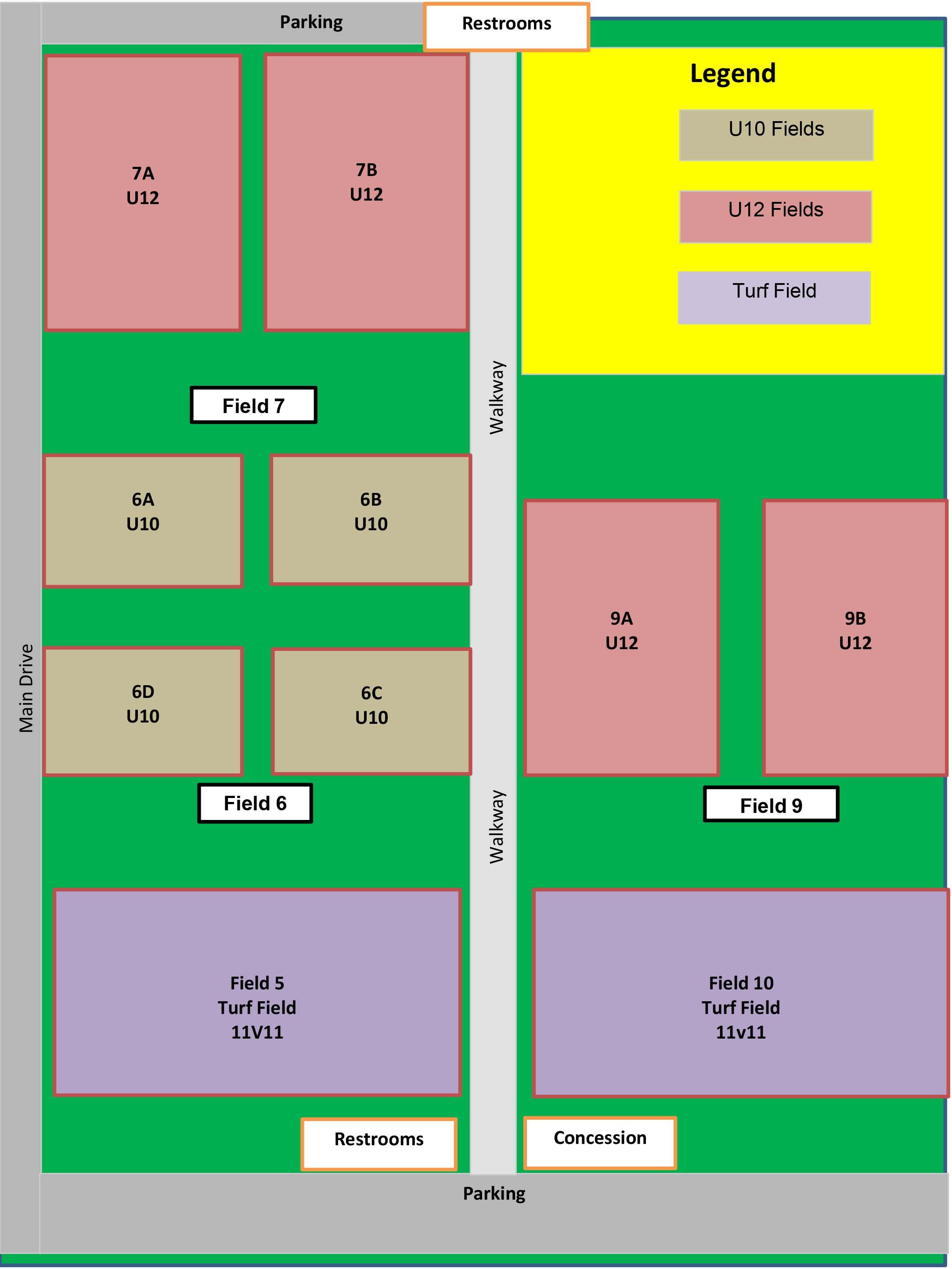 fields united futbol academy rh forsyth unitedfa org polo field layout Horse Polo Field Dimensions